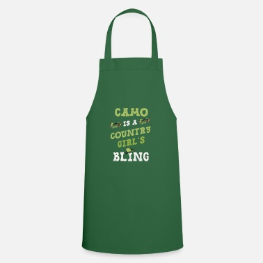 Redneck Camo is 's Bling Redneck - Cooking Apron