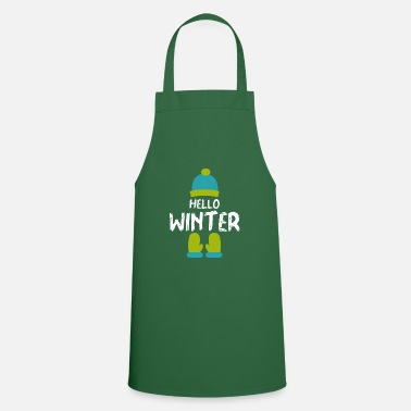 Winter Winter cap gloves - Apron