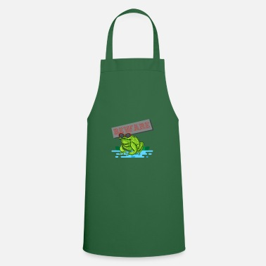Year Of Birth frog - Cooking Apron