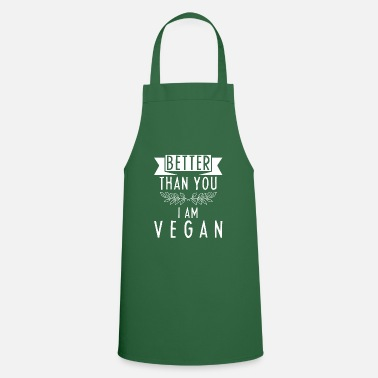 Sustainable Vegan Shirt · Sustainable · Organic Gift - Cooking Apron