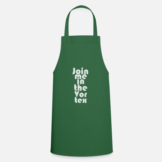 Right Aprons - Law of Attraction - Apron green