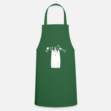 Witty Kitticorn witty cat design cat and unicorn - Apron