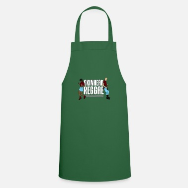 Sharp Skinhead Reggae graphic - Traditional Skinhead - Apron