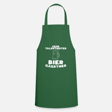 Beer Garden Beer garden saying beer alcohol friends gift - Apron
