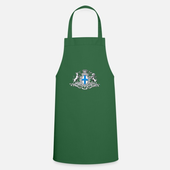 Bordeaux Aprons - French Marseille product - Vintage France Gift - Apron green