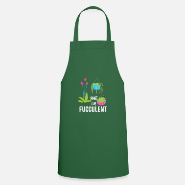 Make A Present What the Fucculent Cactus Succulent Plants - Apron