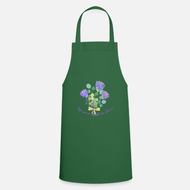 Fragrance Fragrances are the feelings of the flowers - Apron