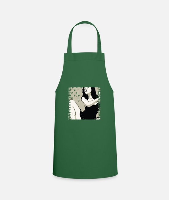 Sexy Aprons - Girlfriend - Apron green