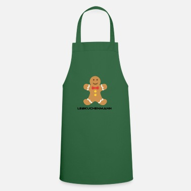Funny Man Funny gingerbread man motif - Cooking Apron