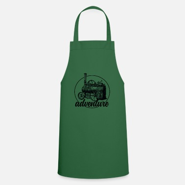 Steam Engine Steam engine retro gift - Apron