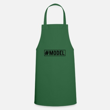 Model model - Cooking Apron