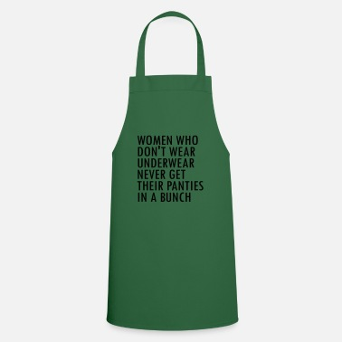 Slogan Underwear Underwear - Sayings from SocialMedia Instagram - Apron