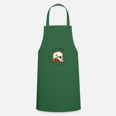 Skull and Red Horn - Apron