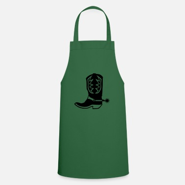Cowboy Boots cowboy boot western 12 - Apron