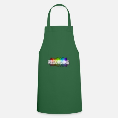 Record Recording - Cooking Apron