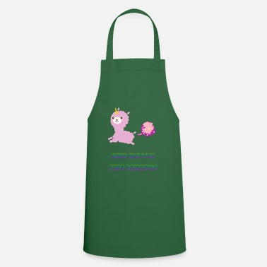 Popcorn Poop Glitter Fart Rainbows Unicorn - Cooking Apron
