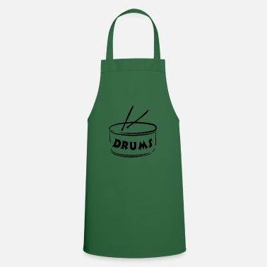 Instrument Drums - Instrument - Musical Instruments - Cooking Apron