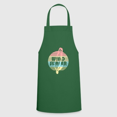 Windsurfers windsurfing vintage wind water - Cooking Apron