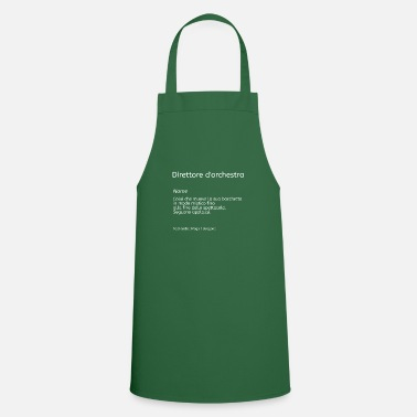 Chant Direttore d'orchestra chant choral choristes - Cooking Apron
