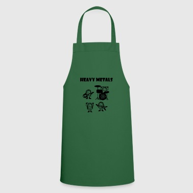Heavy-metal Heavy metals, heavy metals that rock - Cooking Apron