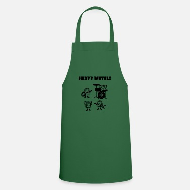 Heavy Heavy metals, heavy metals that rock - Cooking Apron
