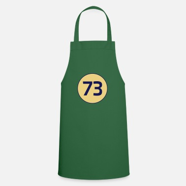 Theory 73 the best number Big Bang Number Theory Theory - Apron