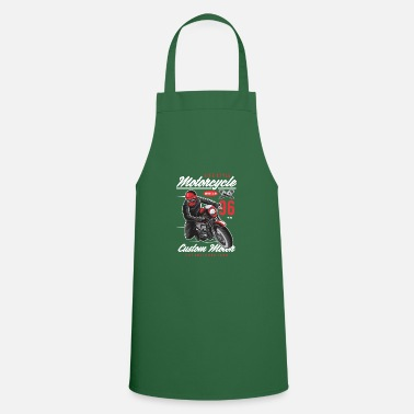 Motorcycle Biker Motorsport Crossbike Chopper - Cooking Apron