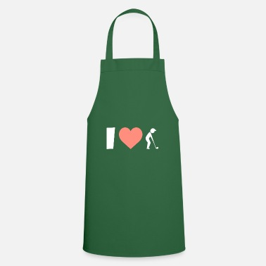 Golf Shoes Golf I love playing golf - Apron