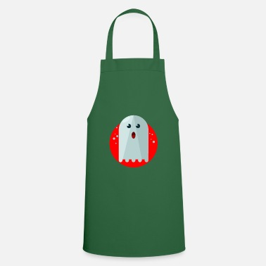 Ghost Ghost Ghost Ghost Halloween - Apron