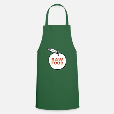 Raw Food Diet Raw food raw vegan - Apron