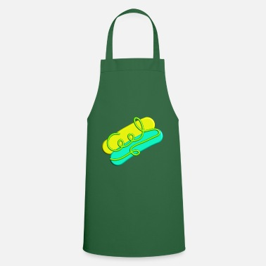 Cool logo in neon - Apron