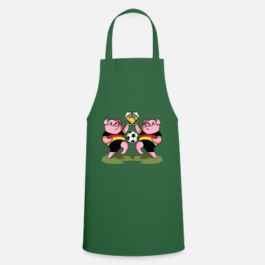 Mascot pigs football germany beer - Apron