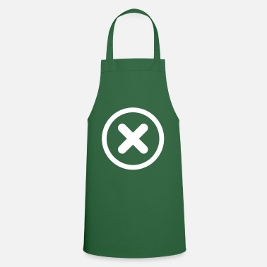 cross x symbol icon - Apron