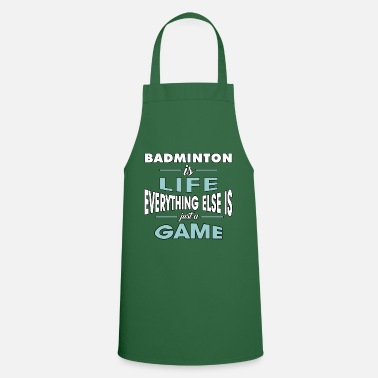 Badminton Badminton shirt • badminton match course • gift - Cooking Apron