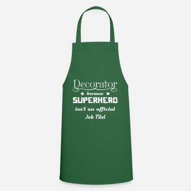 Decorated Decorator - Cooking Apron