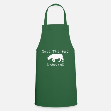 Save Funny unicorn rhino motif gift - Cooking Apron