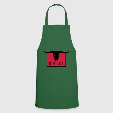 Black Metal Metal Skull - Cooking Apron