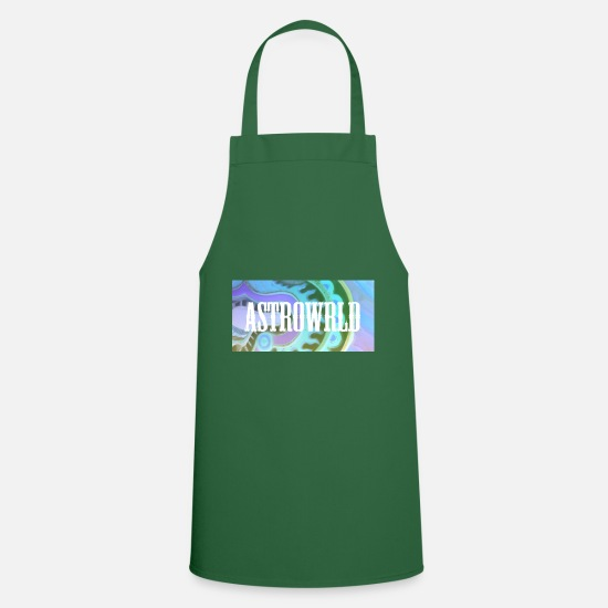Rap Aprons - astro world - Apron green