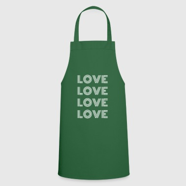 Lovely Love Love Love Love - Cooking Apron