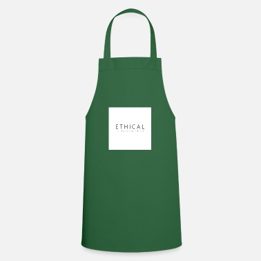 Ethical Ethical is the new Black - Cooking Apron