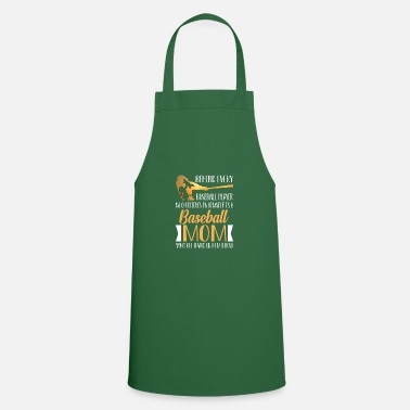Behind Every Baseball Behind Every Baseball Player Who Believes - Apron