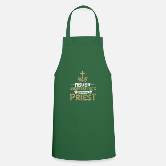 Think Aprons - Priest force - Apron green