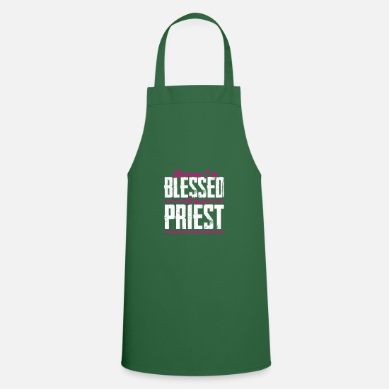 Think Aprons - Priest grace - Apron green