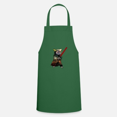 Cat Warrior | Funny cat shirt - Apron