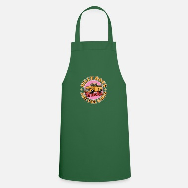 Graduation Silly Boys Trucks Are For Girls Funny Graphic - Apron