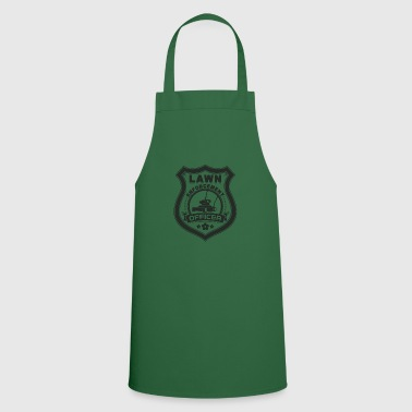 Lawn Enforcement Officer Gift - Cooking Apron