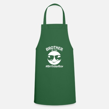 Brother Of Birthday Boy Brother of Birthday Boy Gift Say Cool - Apron