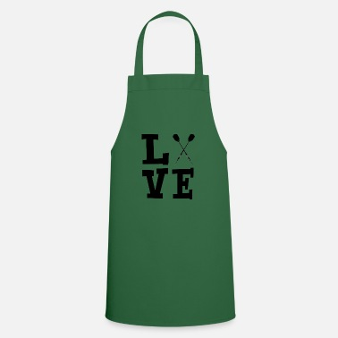 Shot Love with darts black - Cooking Apron