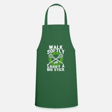 Walking Stick Walk Softly And Carry A Big Stick Gift - Cooking Apron