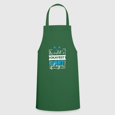 Arrow World's okayest darts player gift idea WM - Cooking Apron